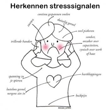 Herken jij je stress signalen?